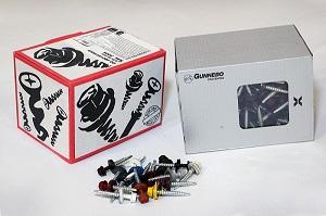 Упаковка самонарізів сталевих Gunebo (Гунебо)